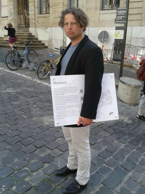 Un humain déterminé (Stéphane Bovon)
