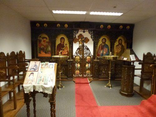 Aéroport prière orthodoxe, Bruxelles