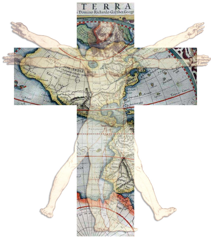 The crucifix as a coordinate system