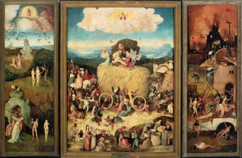 Bosch, Der Heuwagen Triptychon