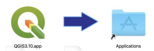 Installer QGIS sur Windows ou Mac, avec l'aide éventuelle de Homebrew ou d'Anaconda